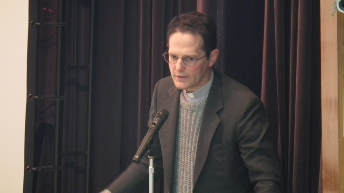 デ・ルカ・レンゾ館長の記念講演